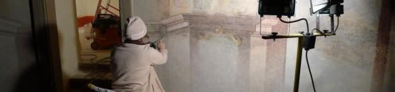 Ostateczny retusz w trzech kaplicach Dolnego kościoła